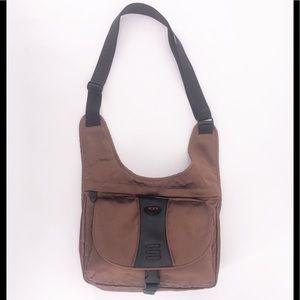 TUMI T2 Copper Crossbody Messenger Bag